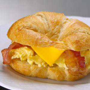 Create Your Own Breakfast Sandwich