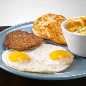 Blue Plate Breakfast